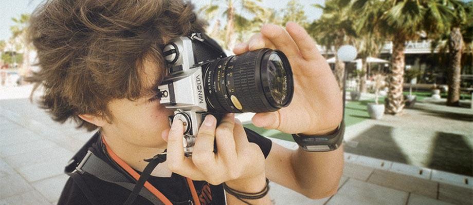 Fotocapus cursos fotografia niños