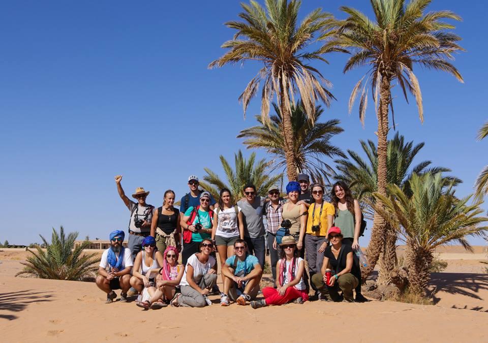 Participantes del tercer viaje fotográfico a Marruecos