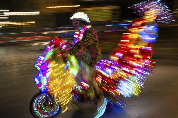 Photowalk Málaga   Luces de Navidad   Taller de fotografía solidario